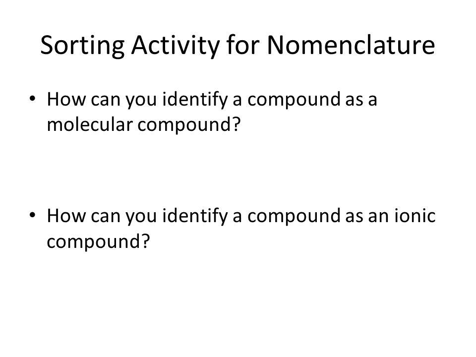 Naming Polyatomic Ions. Warm Up WORKSHEET #2 OUT! 1. Write the ...