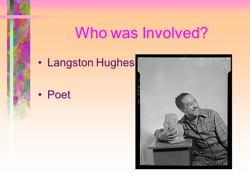 Who was Involved Langston Hughes Poet