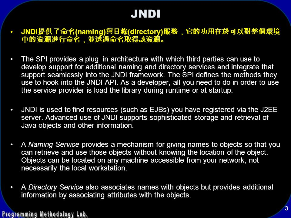 Java Naming and Directory Inte...