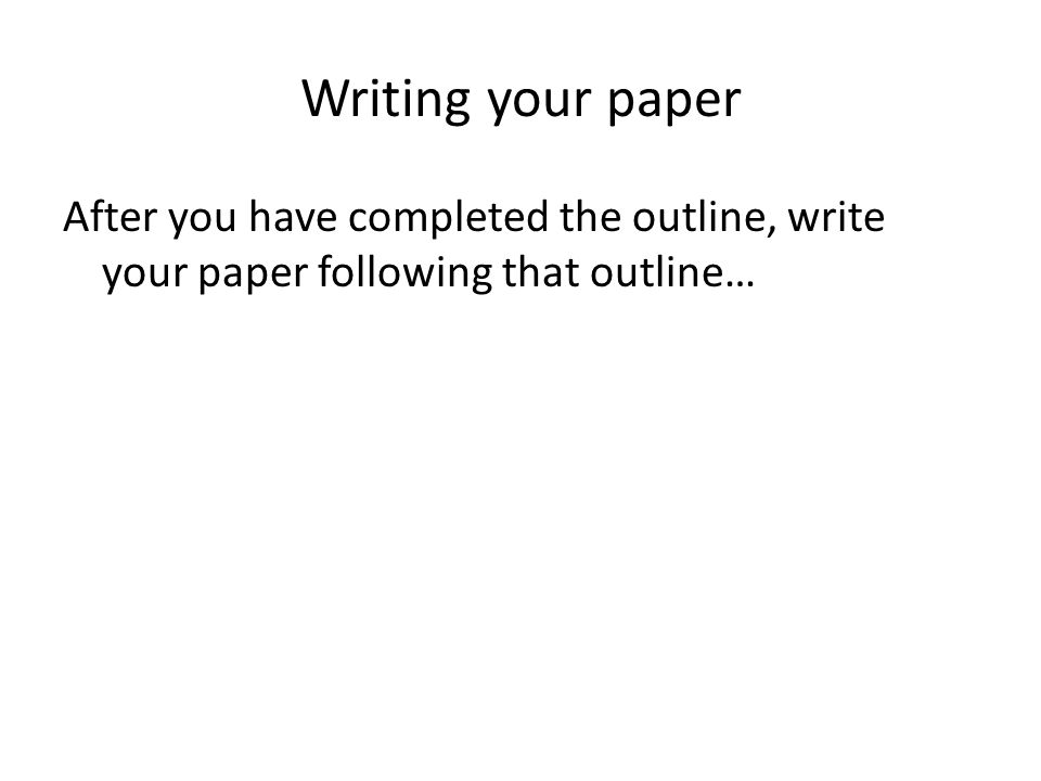 how to write a compare contrast paper overview a comparison or 8 writing your paper after you have completed the outline write your paper following that outline