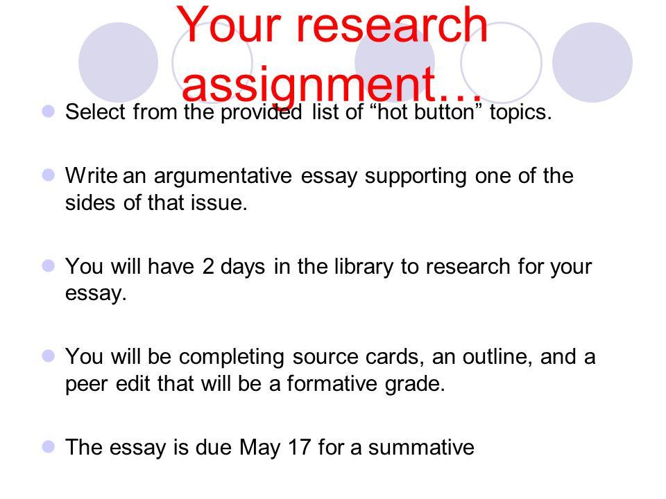 easy political essay topics