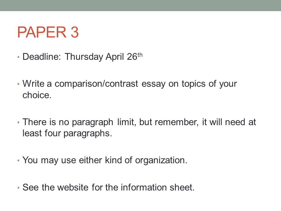 comparison essay topics   Template examples of comparison and contrast essays topics
