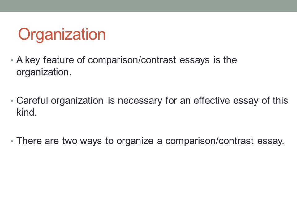 1. in what situations are compare-and-contrast essays effective Thesis statement examples for compare and contrast essays ideas for compare and contrast essays ideas the first contrast to compare an effective.