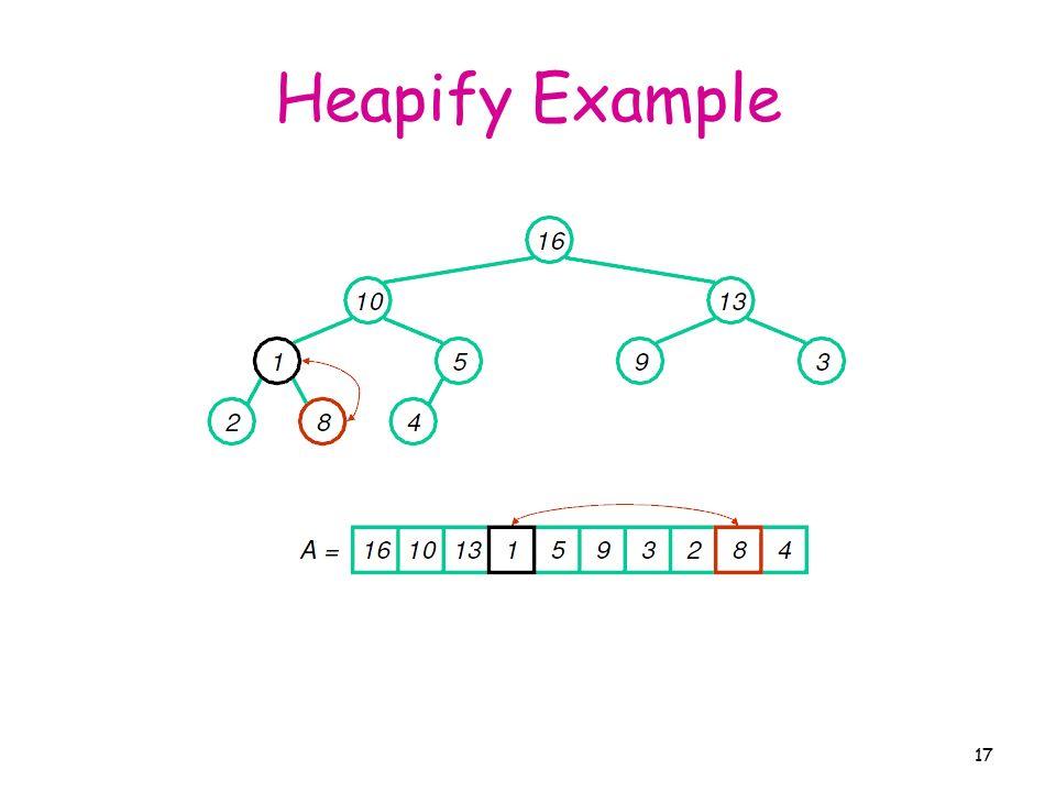 heapify