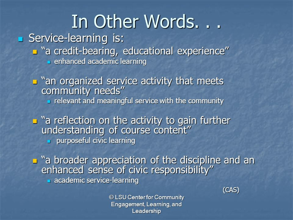 other words for service