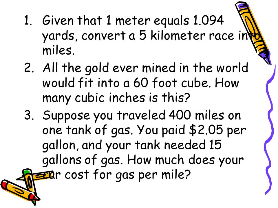 how much gas per mile