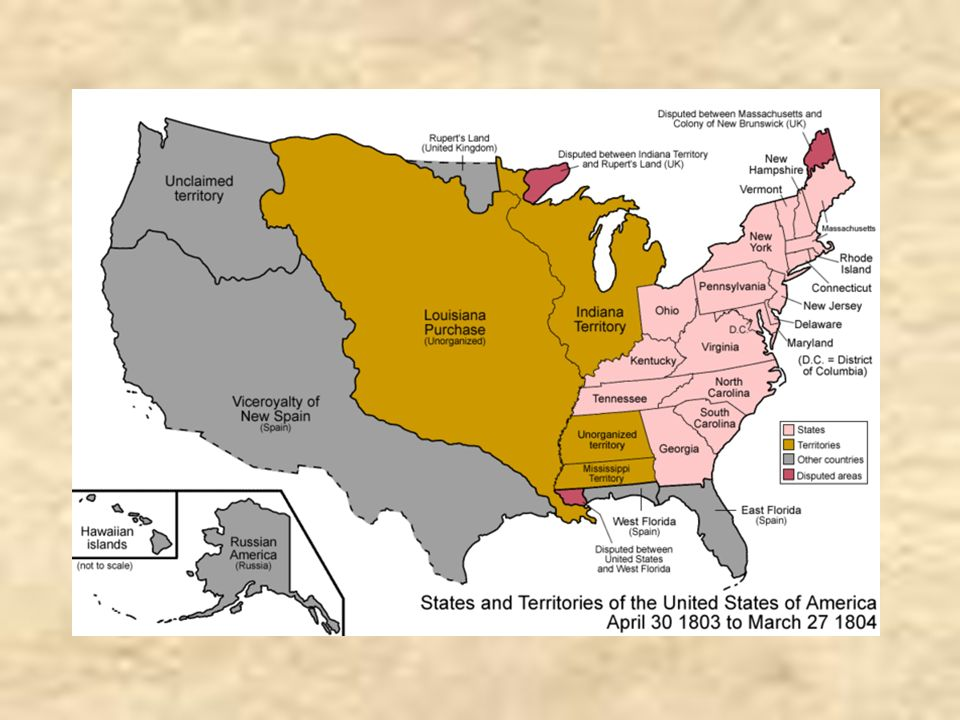 an overview of the louisiana purchase Thomas jefferson's purchase of the louisiana territory in 1803 — over 600 the treaty of the louisiana purchase a brief summary of the history and politics of.