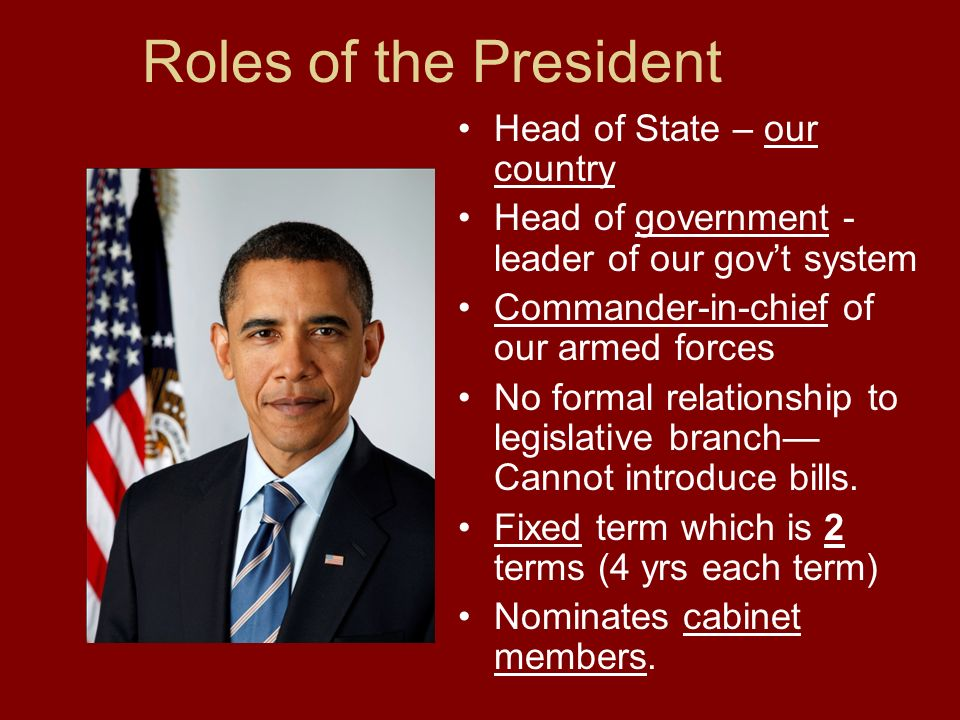 The Executive Branch President Vice President Cabinet. - ppt download