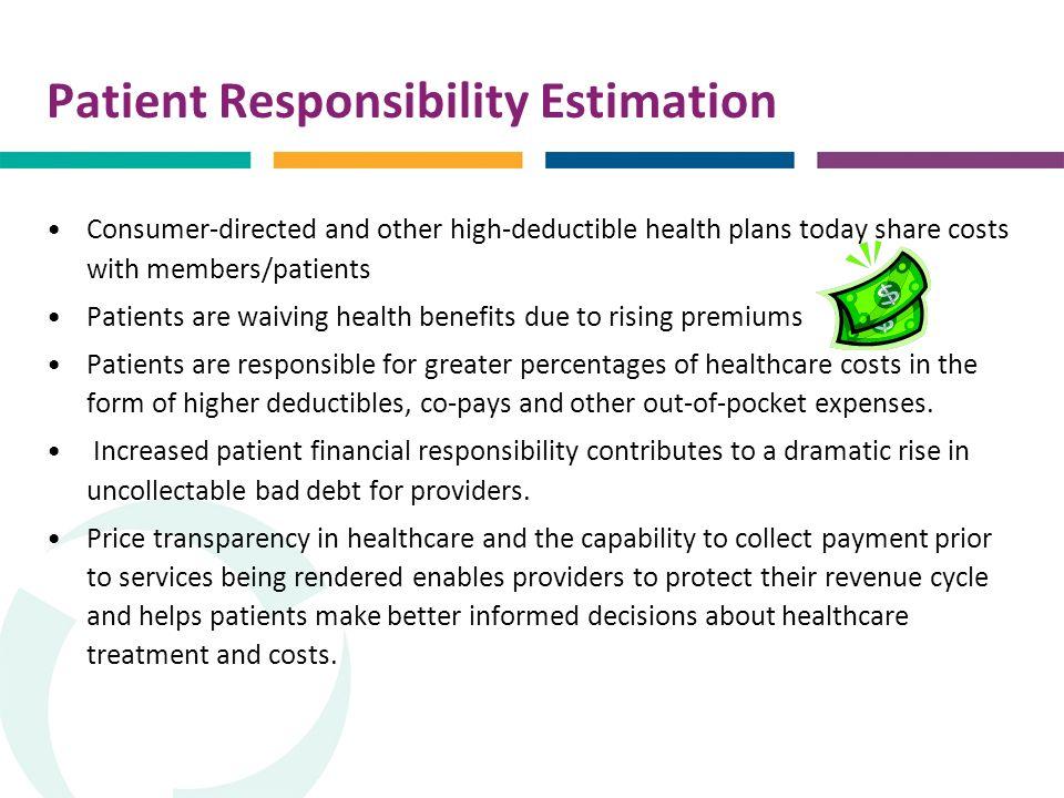 Estimating Patient Financial Responsibility Keystone AAHAM ...