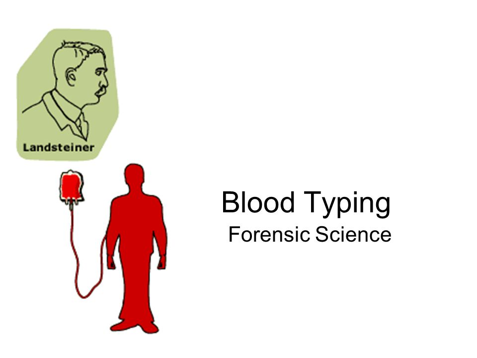 Blood Typing Forensic Science