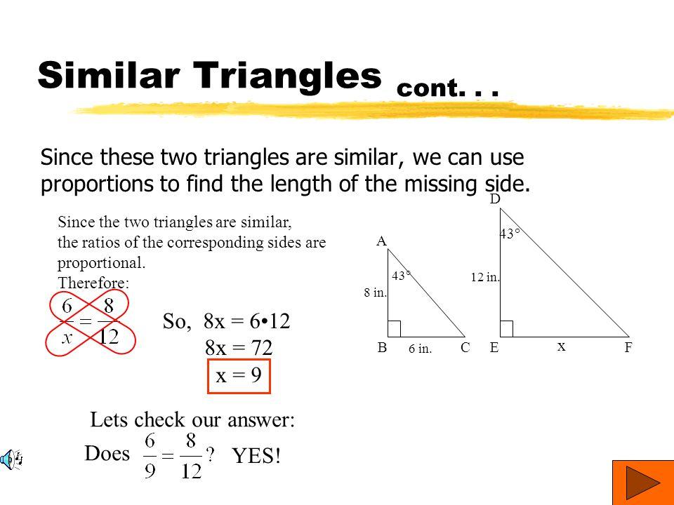 Honors Geometry Similar Triangles Worksheet - Intrepidpath