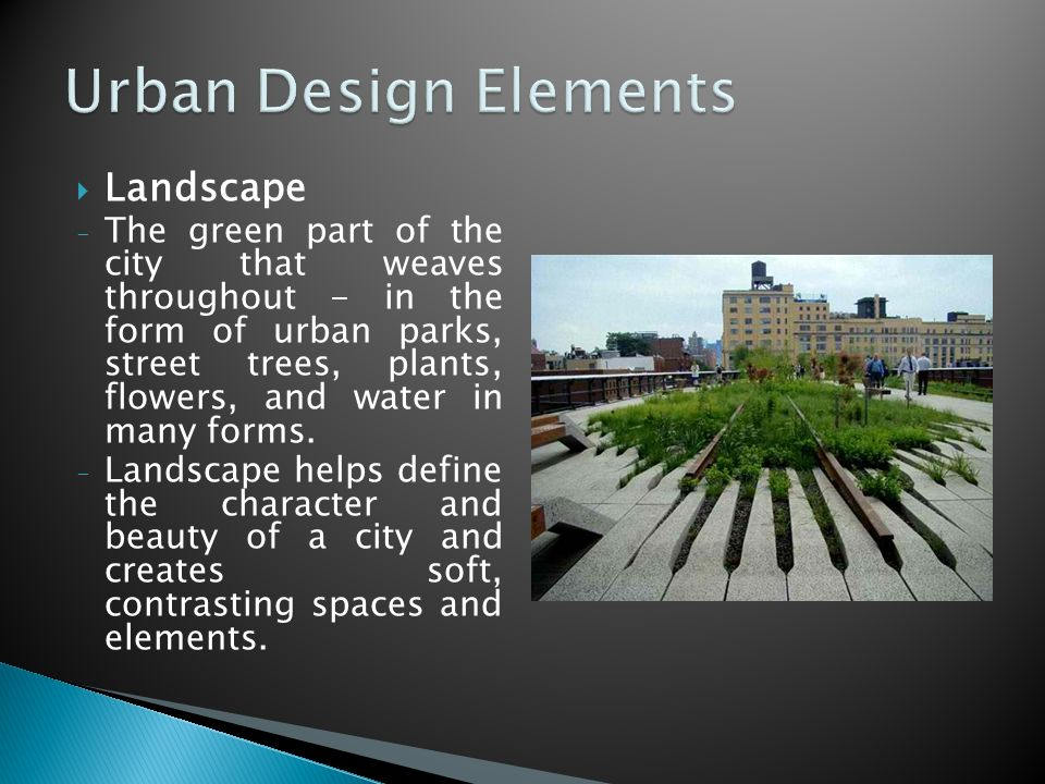 Define Elements Of Design : Urban design involves the arrangement and of buildings