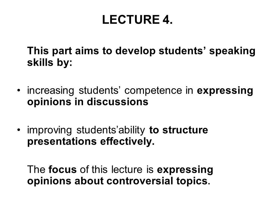 developing communication skills essay