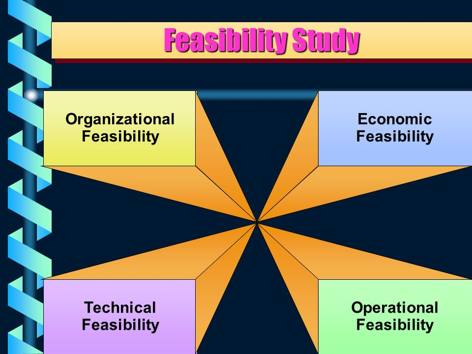 22 Four Types of Feasibility Study