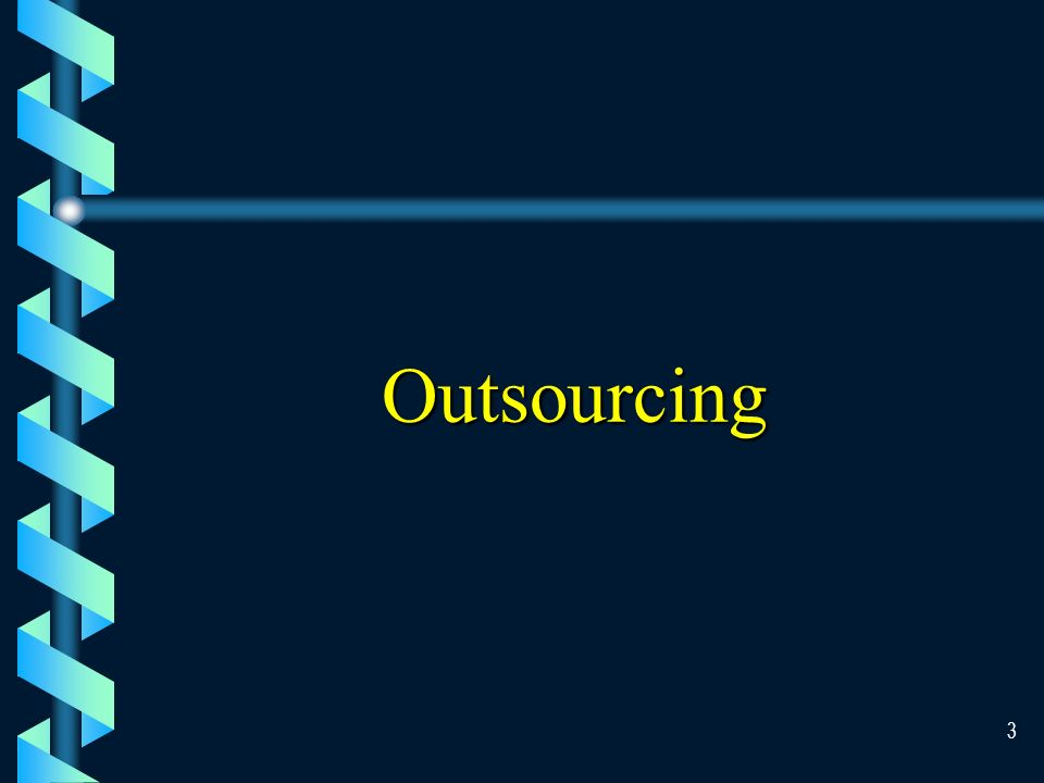 2 Objectives of This Chapter ` Understand outsourcing ` Describe techniques available for system development ` Describe each step involve in the Systems Development Life Cycle (SDLC) ` Identify the activities involved in the implementation of new information systems.