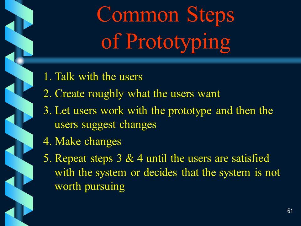 60 Prototyping