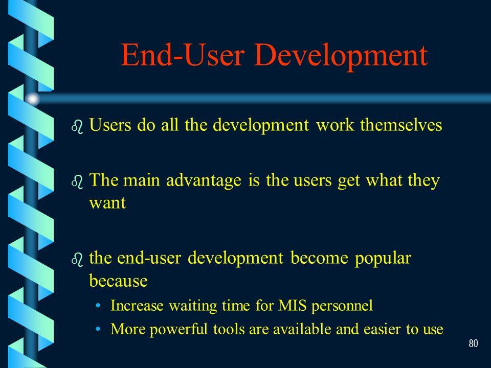 79 End-user Development