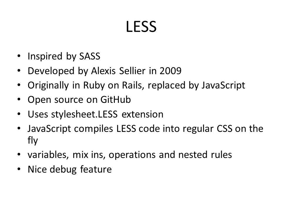 sass source code