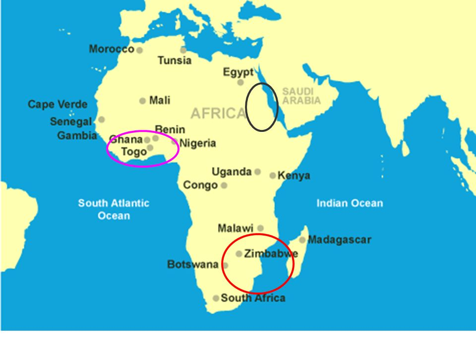 Africa Do You Recognize This Location Geography Africa Is Made - Where is ghana located