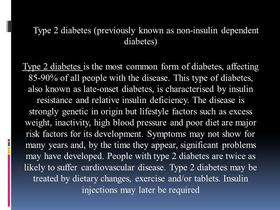 Diabetes. Diabetes mellitus, or simply diabetes, is a group of ...