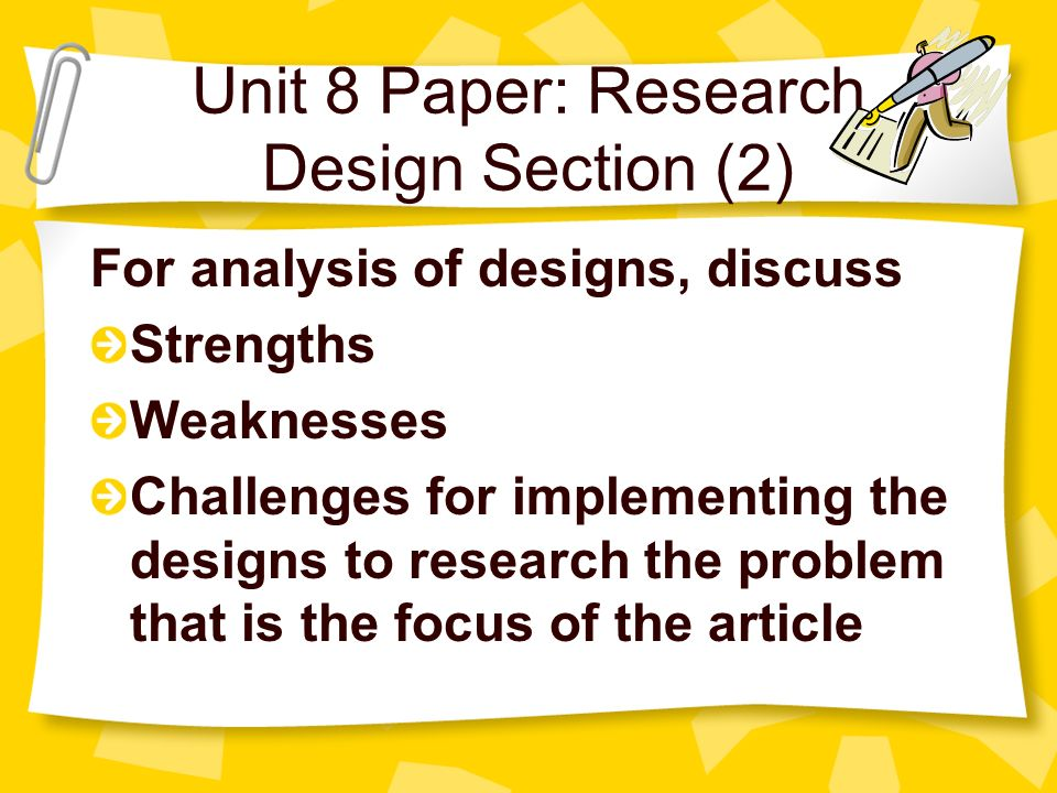 design section of research paper The method section of an apa format psychology paper provides the methods and procedures used in a research study or experiment this part of an apa paper is critical because it allows other researchers to see exactly how you conducted your research.