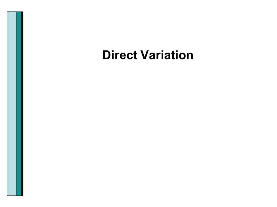 Section 28 Modeling Using Variation Direct Variation Ppt Download