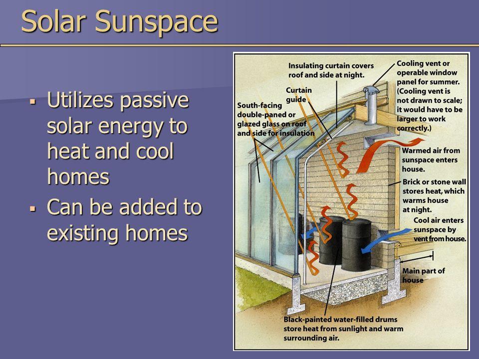 passive solar energy essay
