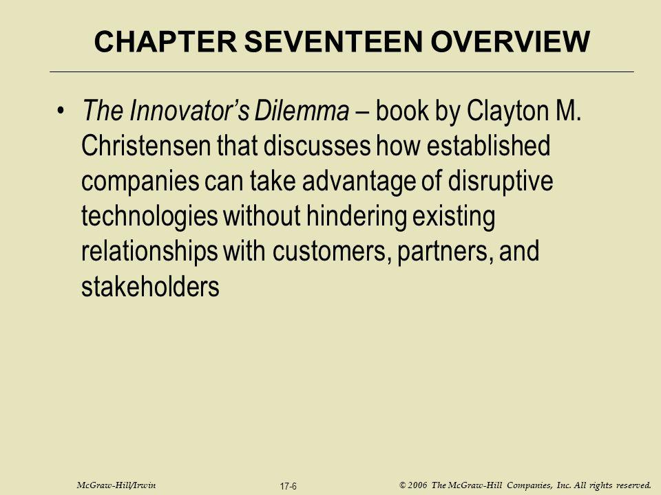 McGraw-Hill/Irwin © 2006 The McGraw-Hill Companies, Inc.