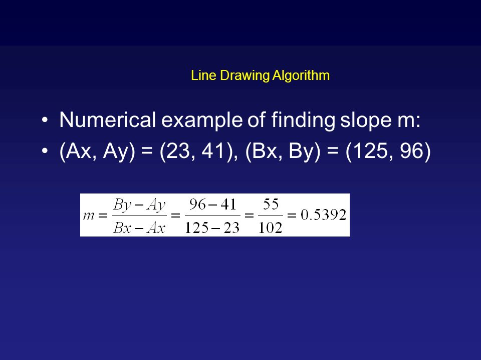 Line Drawing Algorithm Graphics : Is it worth learning c graphics quora