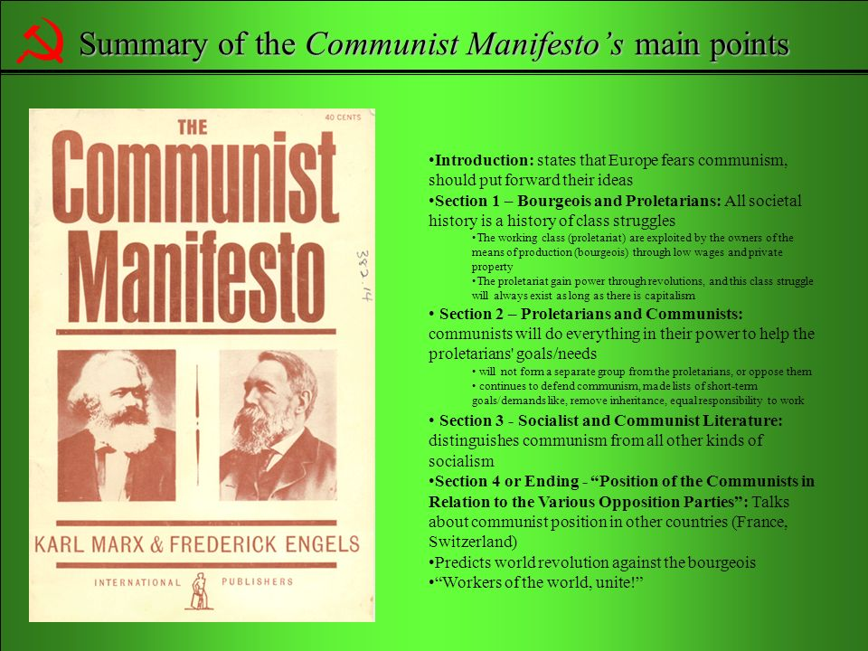 the proletariat in the communist manifesto sociology essay Communist manifesto essay - custom research paper writing help - get professional help with custom essays, term papers, reports and theses quick custom term paper writing and editing help - we help students to get affordable essay papers you can rely on professional research paper writing and editing website - get professional help with.