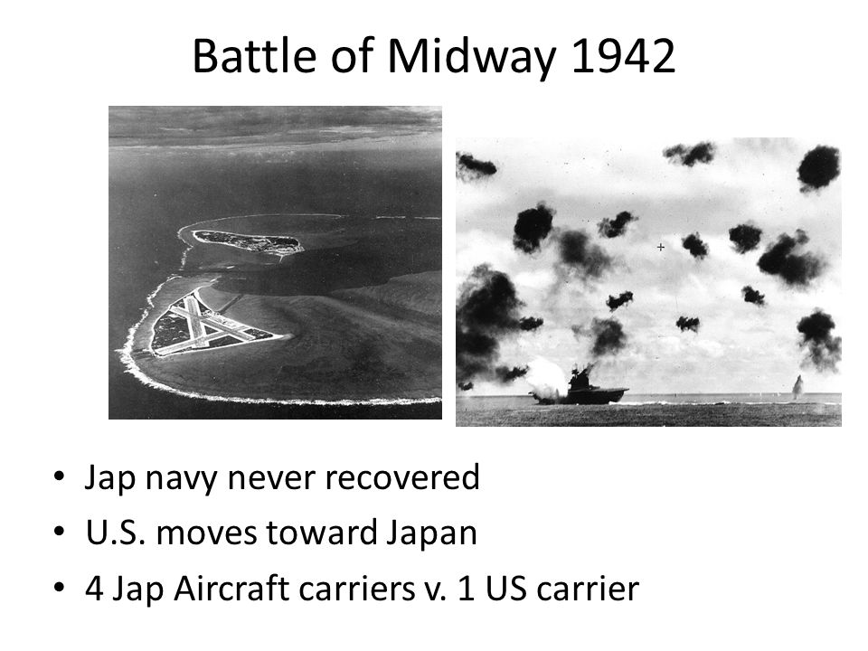 Battle of Midway 1942 Jap navy never recovered U.S.