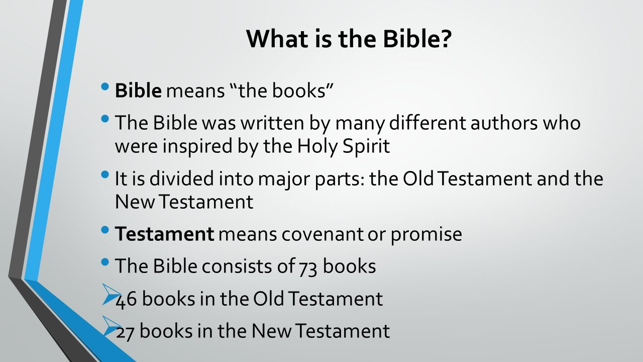 2 what is the bible
