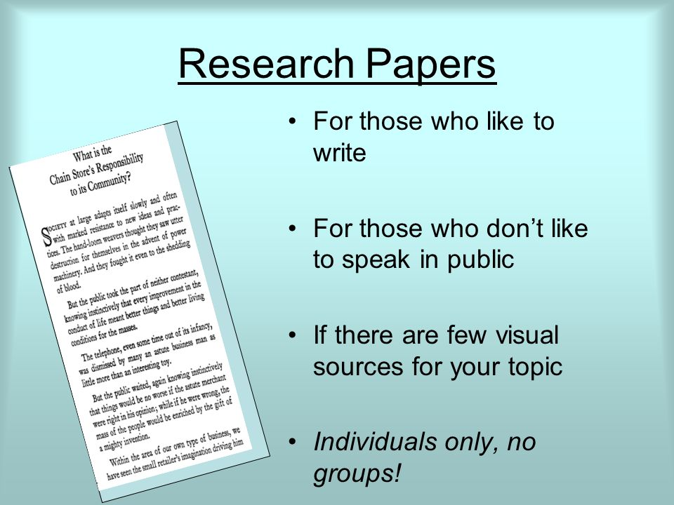 history fair research paper When viewing sample projects there is no magic formula for a perfect history day project documentaries research papers.