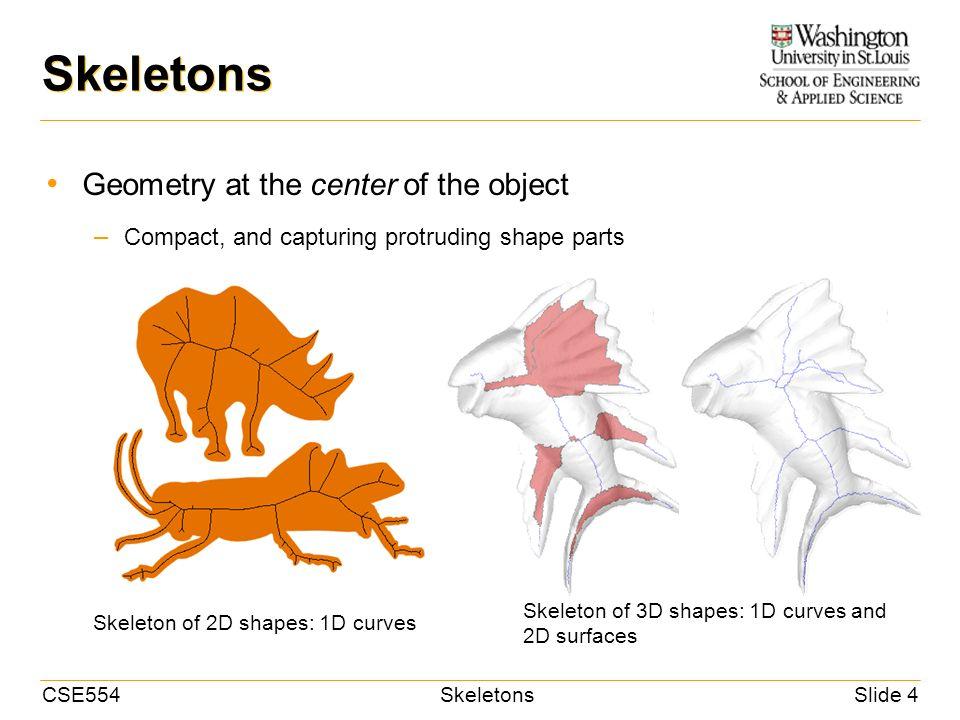 CSE554SkeletonsSlide 1 CSE 554 Lecture 2: Shape Analysis (Part I ...