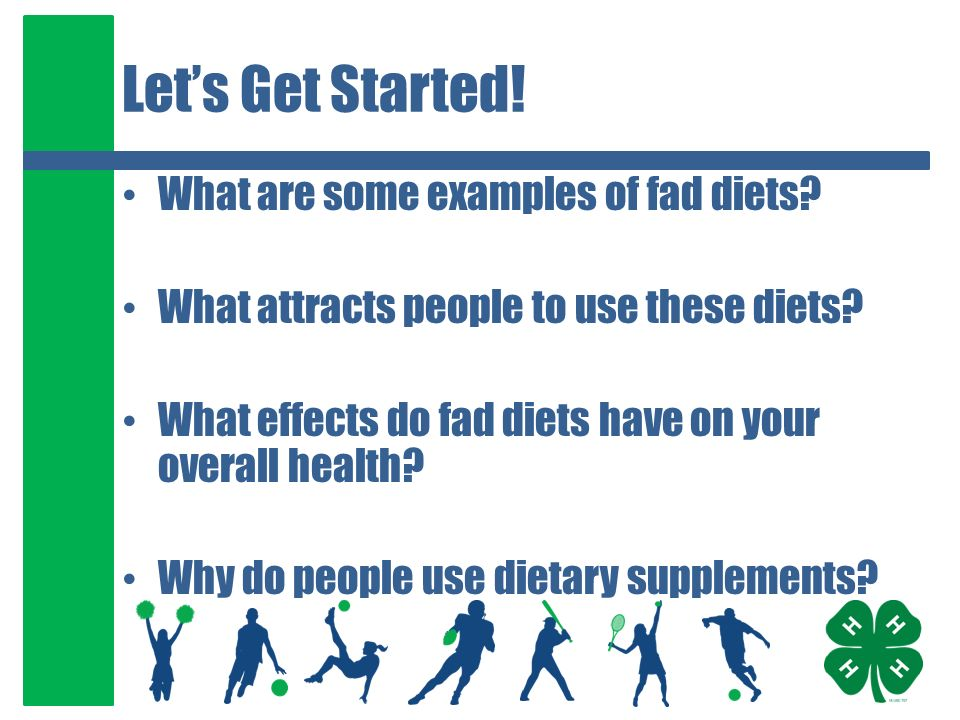 What Are Some Examples Of Fad Diets
