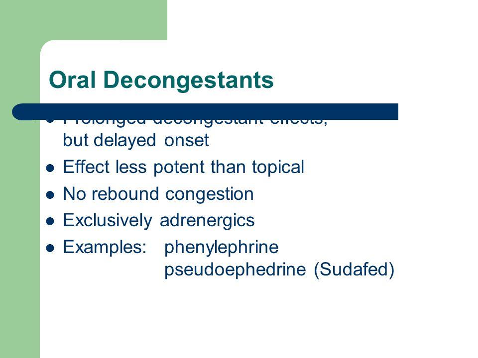 Antihistamines, Decongestants, Antitussives, and Expectorants ...