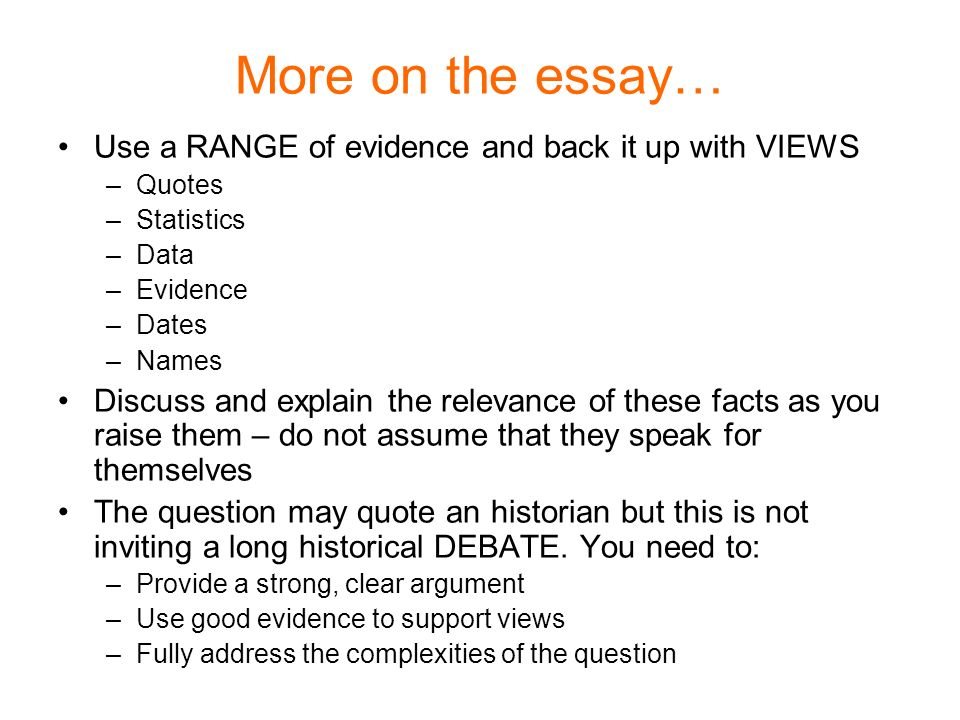 Statistics - srs essay