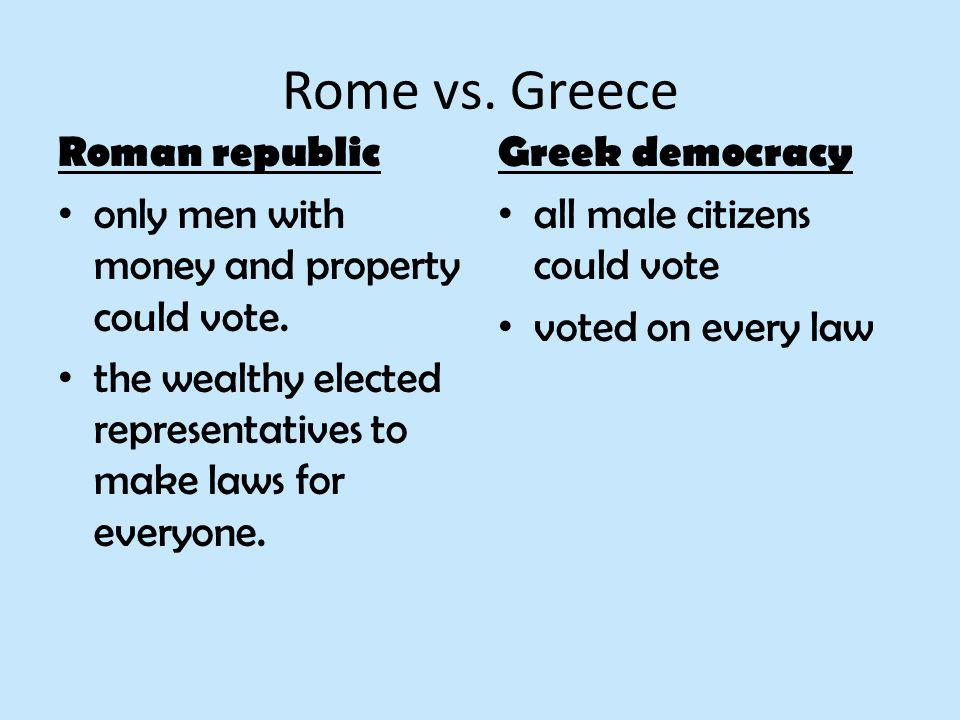 democracy rome essay