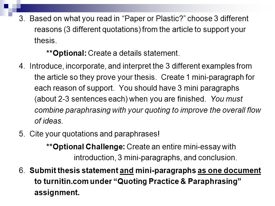 paraphrases in essays