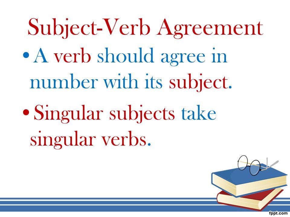 Subject Verb Agreement Worksheets 6th Grade - Studimages.com
