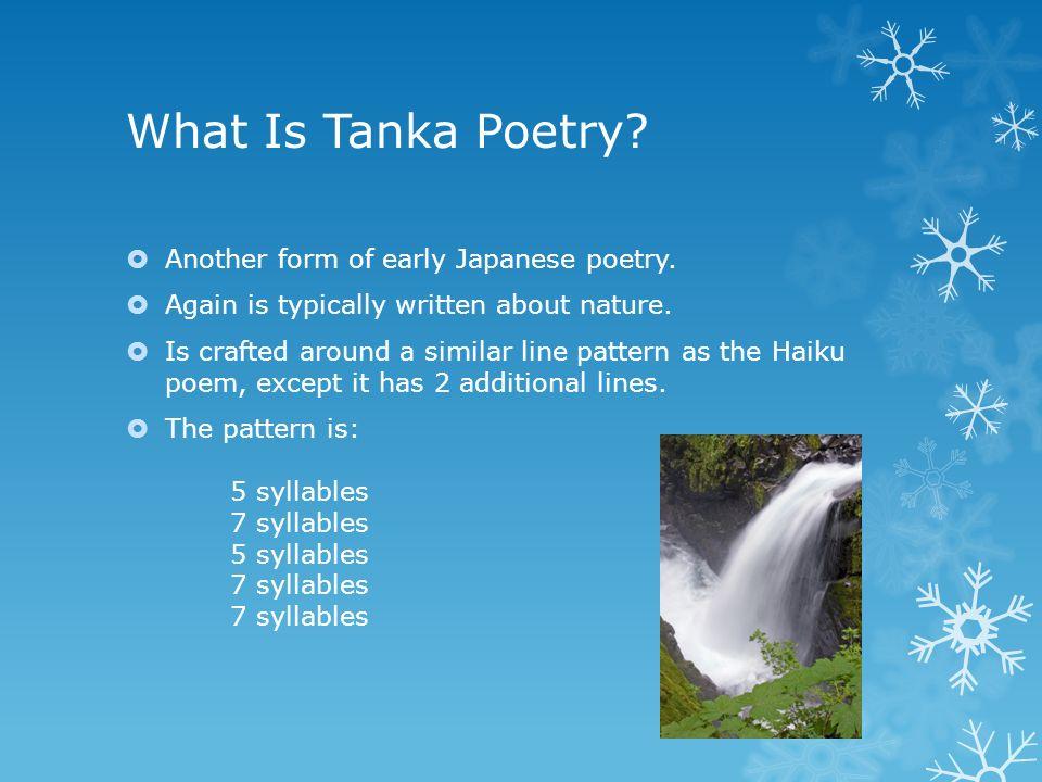 Haiku & Tanka Poetry English I Mr. Dewalt 俳句. What Is Haiku ...