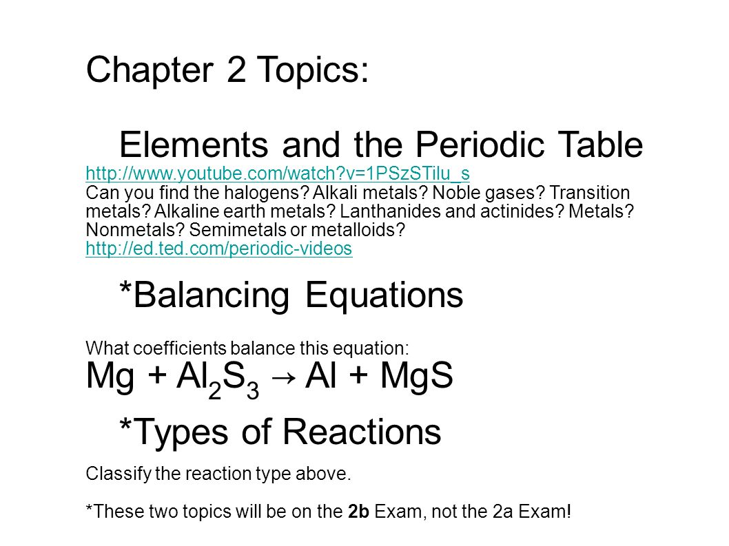 Chapter 2 topics elements and the periodic table can you find the chapter 2 topics elements and the periodic table httpyoutube urtaz Images