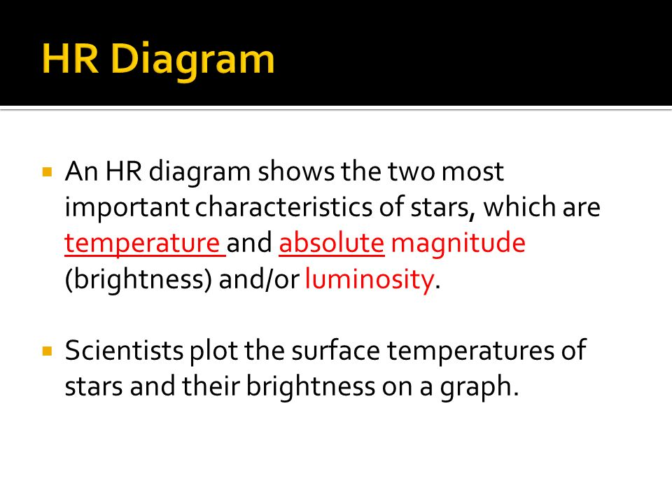 Stars can be classified in three ways size how massive the an hr diagram shows the two most important characteristics of stars which are temperature ccuart Choice Image