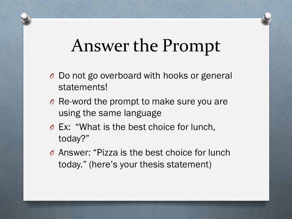 thesis statements made simple Thesis statement - writing tips and examples have you ever watched a trailer for an upcoming movie and thought, i just have to see this film a good thesis statement gives the reader an idea of the significant parts of an essay to make them want to read more apart from college essays and.