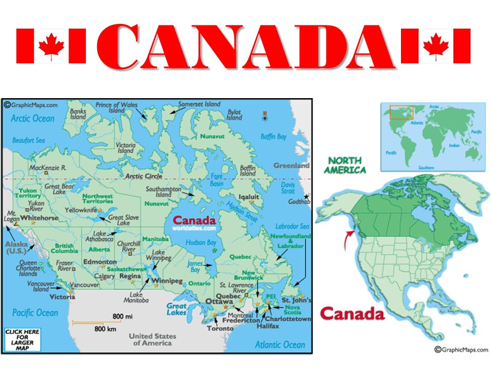 R Canadian Geography Todays Standards SSG The Student Will - Physical features of canada and the united states