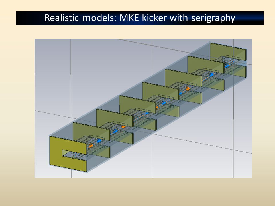 Realistic models: MKE kicker with serigraphy