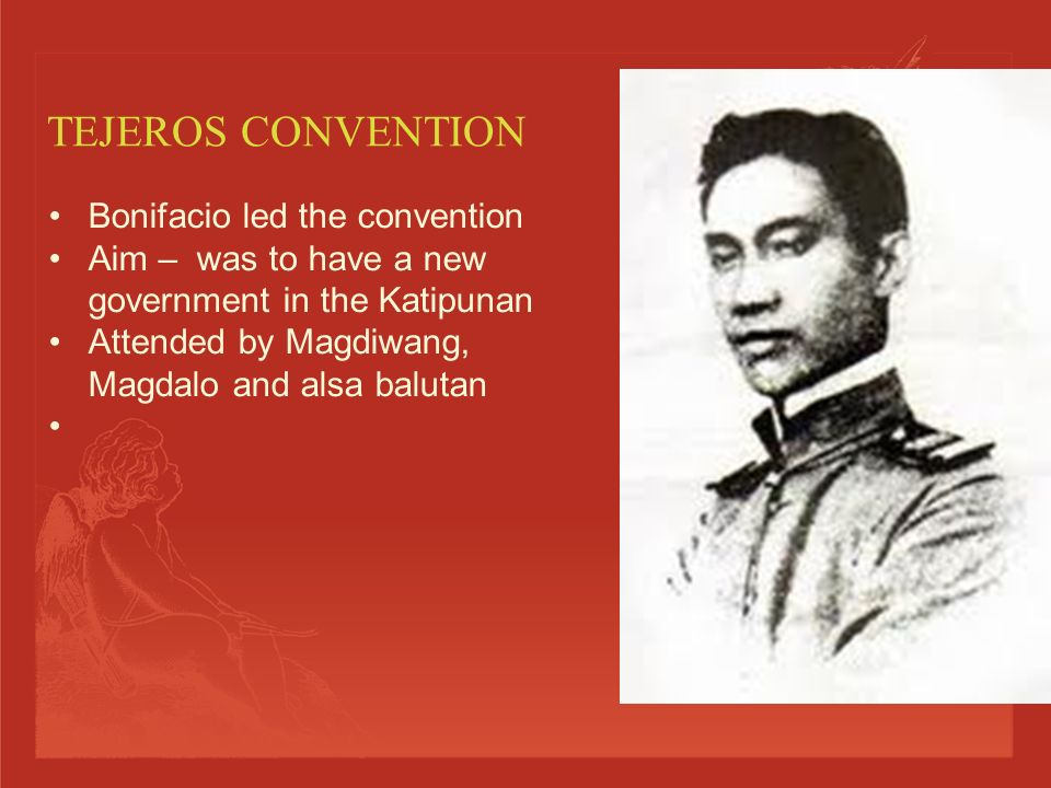  Was under Baldomero Aguinaldo (cousin of Emilio Aguinaldo)  Felt that it was time to replace the Katipunan and form another kind of government  Based in Kawit, Cavite  Magdiwang Was under Mariano Alvarez (the uncle of Andres Bonifacio's wife.)  Did not want to replace the Katipunan.