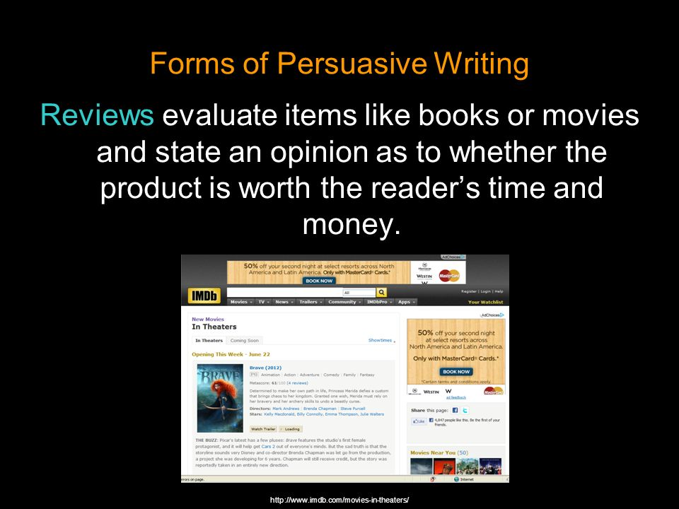 Turn a persuasive essay intake a speech?