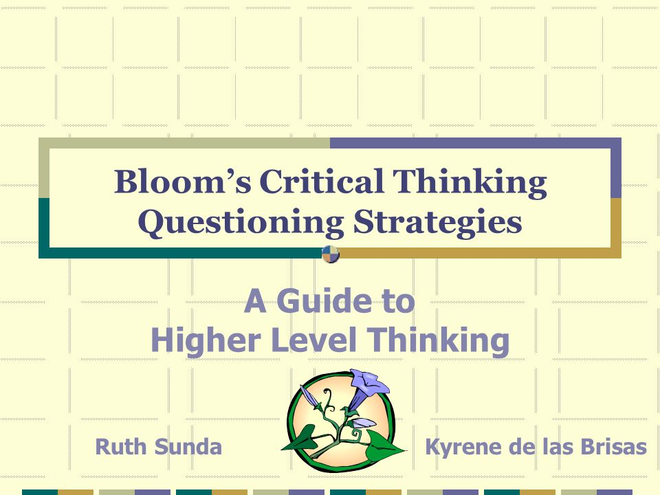 Bloom's Six Levels Knowledge Comprehension Application Analysis Synthesis Evaluation