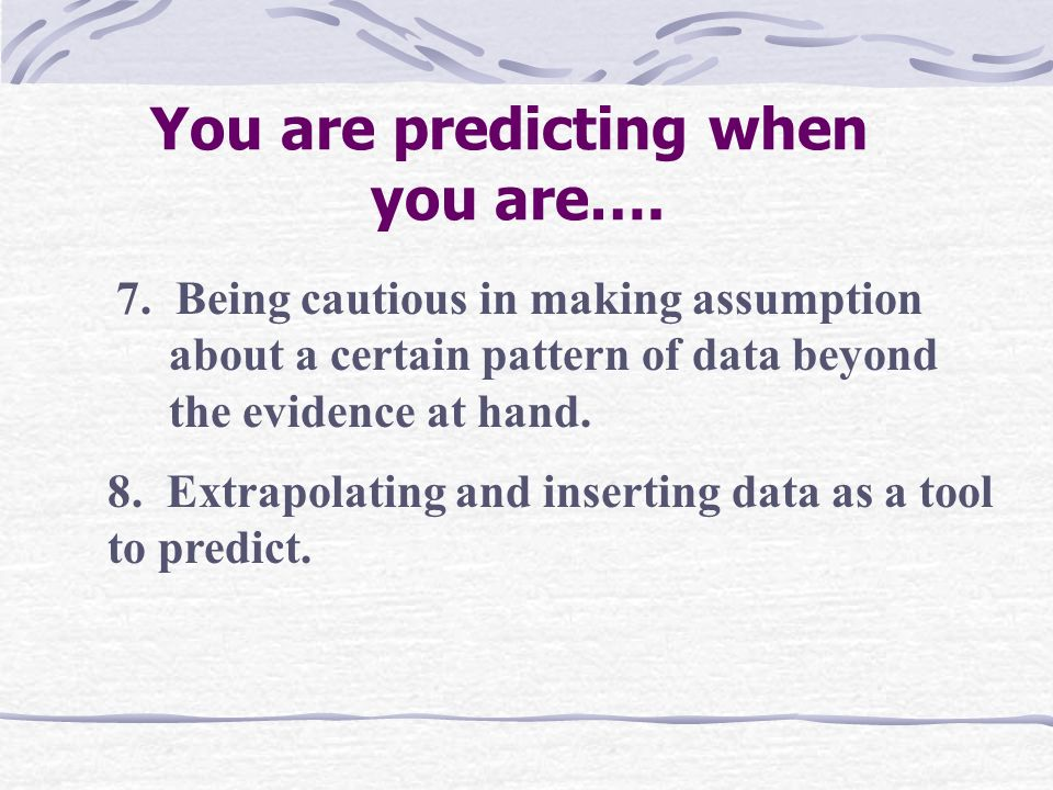 5. Confident with the accuracy of the prediction.